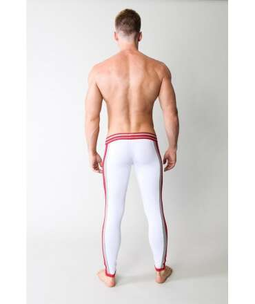 Underwear Long Timoteo Varsity Relay Pant White/Grey/Red 125025
