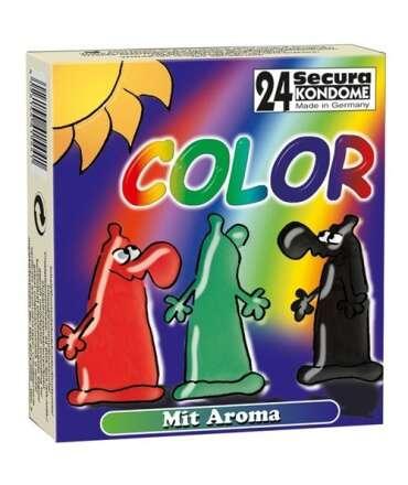 24 x Preservativos COLOR,322002