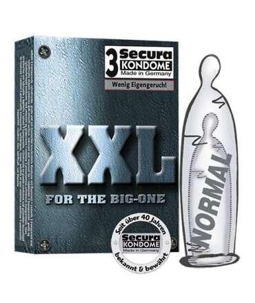 3 x Condoms XXL 319004