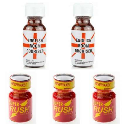 Pack 2-Large (English) + 3 Small (Rush) (Red) 180057