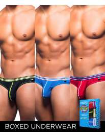Pack 3 Cuecas Andrew Christian Super Hero Boy,600076