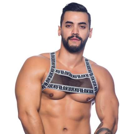 Harness Andrew Christian Crave Mesh Preto, Andrew Christian