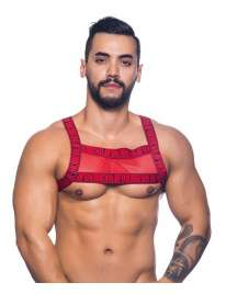 Harness Andrew Christian Crave Mesh Red, Andrew Christian