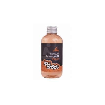 Óleo de Massagem Sensual Pêssego 250 ml, joy drops