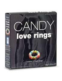 3 Anéis para o Pénis Candy Love Rings, Spencer & Fleetwood
