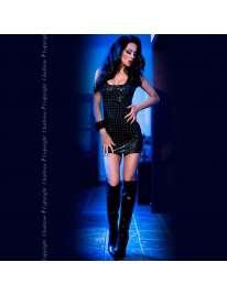 Mini Dress 3D Chilirose CR-4016 Black 197048