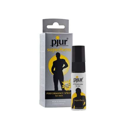 Spray Retardante Pjur Super Hero Preformance,318003