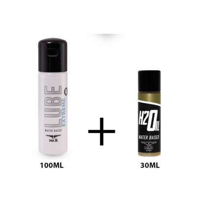 Lubricant Water Mister B Lube Extreme 100 ml + Mister B H2Oil 30 ml 316044