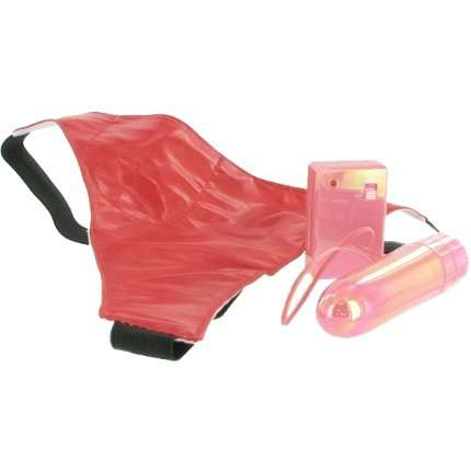 Dildo with remote and Thong Pink 211056