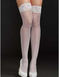 Socks Silicone Sophia White,196031