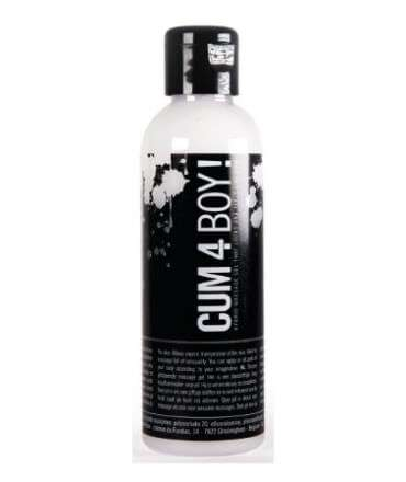 Gel de Massagem Híbrido Cum 4 Boy! 100 ml, de Água e Silicone, , welcomelover, sex shop, sexshop,