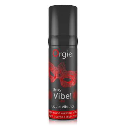 Gel Orgie Liquid Vibrator Sexy Vibe Hot 15ml,3543616