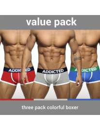 Pack Of 3 Boxer Shorts Addicted Basic 5003639