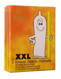 3 Condoms, XXL,3203661