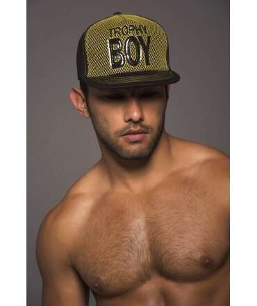 Cap Andrew Christian Trophy Boy Black 600040