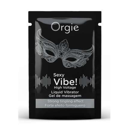 Saquetas Gel Intimo Sexy Vibe Orgie,3523705