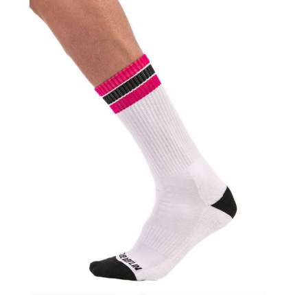 Football socks Barcode Berlin in the Pink,134804