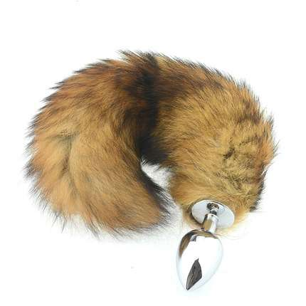 Butt Plug with a Tail of a Fox 2373836