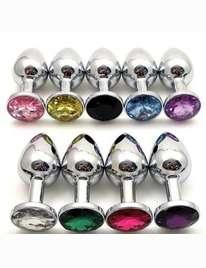 Butt Plug in a Aluminum Jewelry,2403840