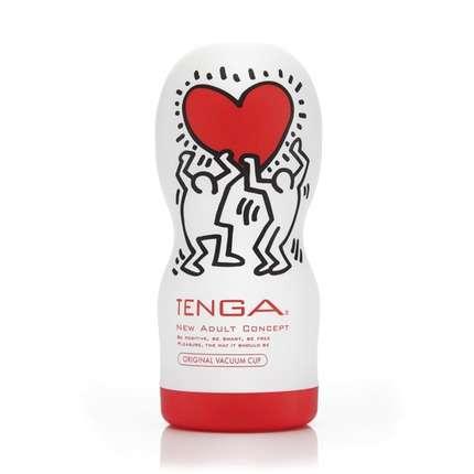Masturbator Tenga-Original Vacuum Cup-Keith Haring 1273885