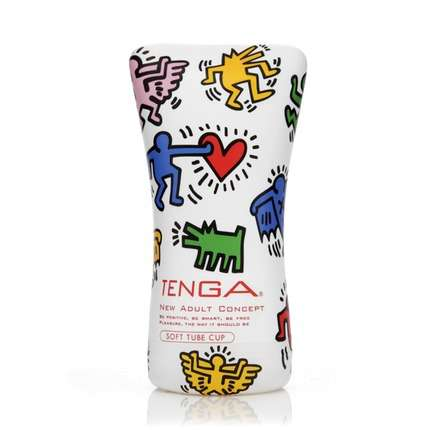 Masturbador Tenga Soft Tube Cup Keith Haring,1273888