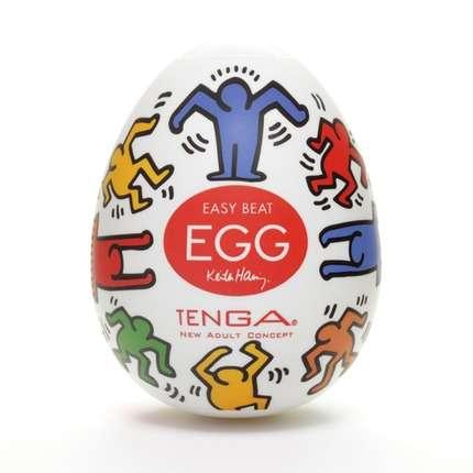 Tenga - Keith Haring Egg Dance (1 Piece) 1273890