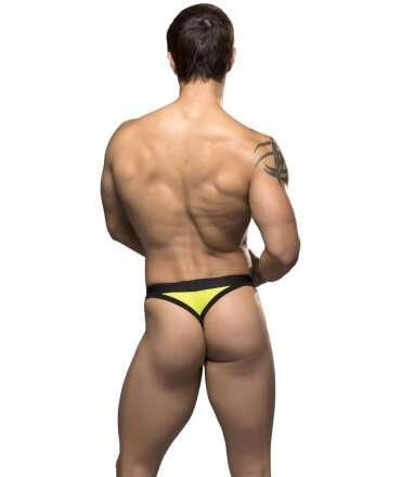 Tanga Gigolo Andrew Christian w/ Almost Naked Amarelo Neon,600012