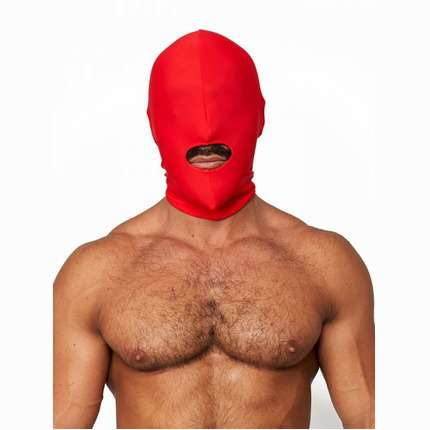 Mister B Lycra Hood Mouth Open Only Red 3343923