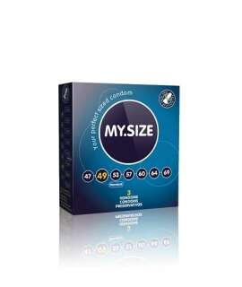 3 x Preservativos MY.SIZE 49,4025838820121