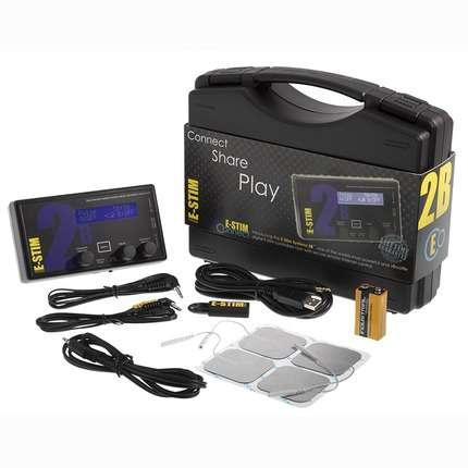 Caixa de Eletro Estimulação E-Stim Connect Pack,1464116