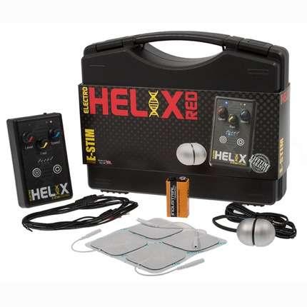 Caixa de Eletro Estimulação E-Stim Helix Red Pack,1464117