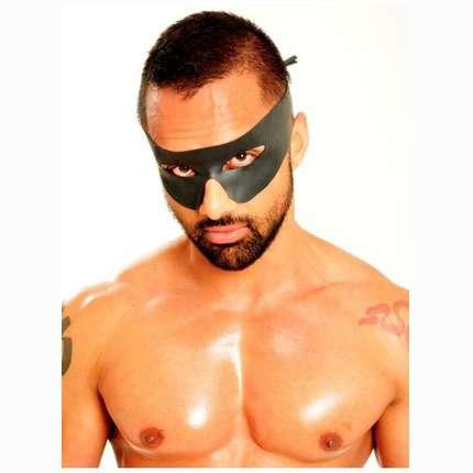 Máscara de Zorro em Latex Preto,3344137