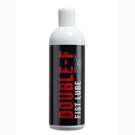 The lubricant is Water, Mister B, Double F, the Fist 1000 ml 3164166
