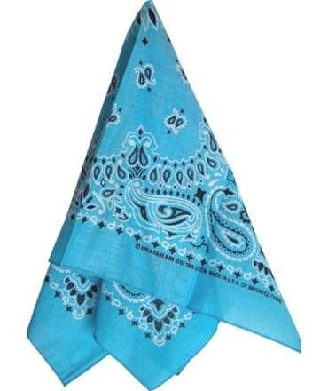 Lenço Azul Claro 413915 Acessórios mister