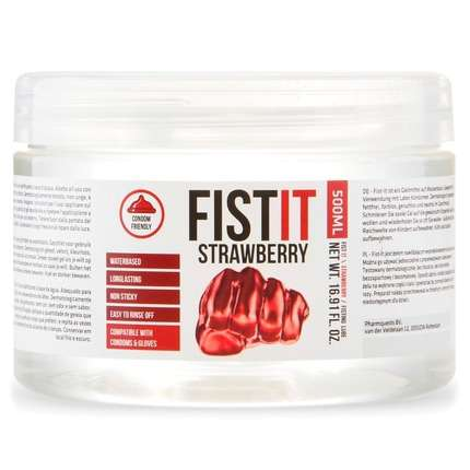 Lubrificante para Fisting Fist it Morango 500 ml,3164247