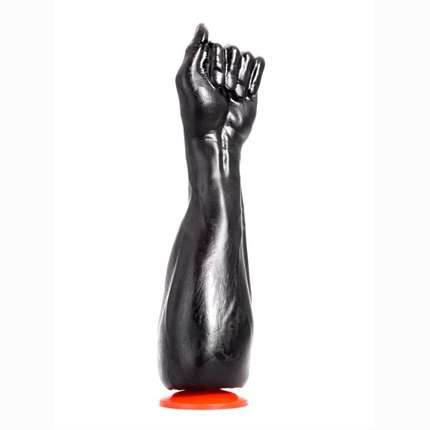 Dildo Mão Fucktools Handy Harry Preto 28.5 cm,2264278