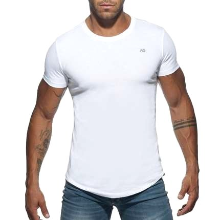 T-Shirt Basic-Addicted-U-Neck - 5004305