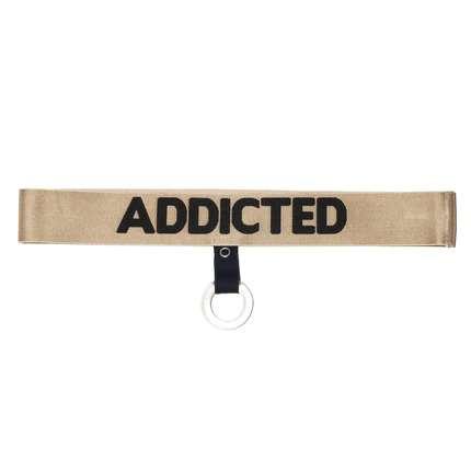 Cockring com Banda Elástica Addicted Dourado ou Prateado,5004309