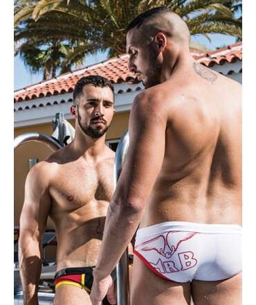 Sunga Mister B URBAN Laguna Beach Swim Branco,821152