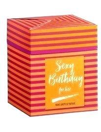 Kit Sexy Birthday for Her 10 Peças,8134475