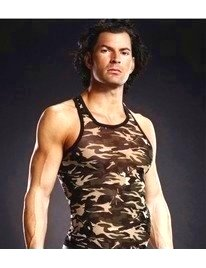 The Sleeve To The Armhole Racerback Camo,1294540