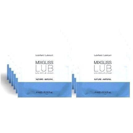 The lubricant is Water MixGliss 12 Doses of 4 ml 3164570