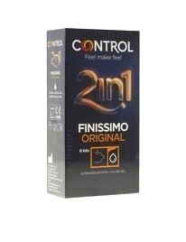 6 Condoms, and Lube Control, Pure, Original,3204571