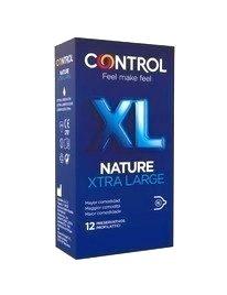 12 x Condoms, Control, XL, Nature 3204572