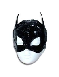 Black mask on with a Hole for the Eyes,1874601