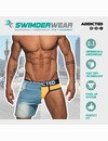 Cuecas Swimderwear Addicted Zebra 1254701