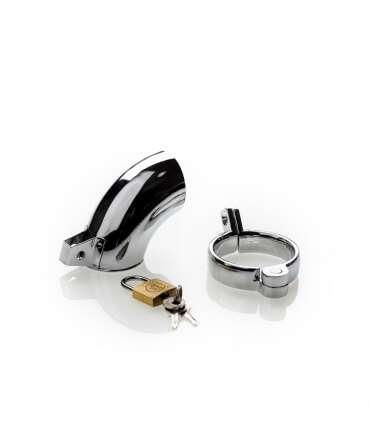 Cinto de Castidade Masculina Metal M-1003 143006 Castidade Masculina