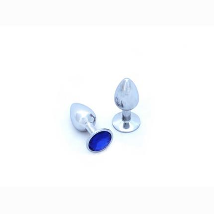 Plug Anal em Alumínio com Jóia,2403840