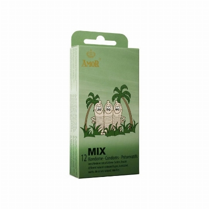 12x Preservativos Amor Mix 3204775