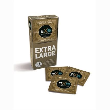 12x Preservativos EXS Magnum XL,3204811